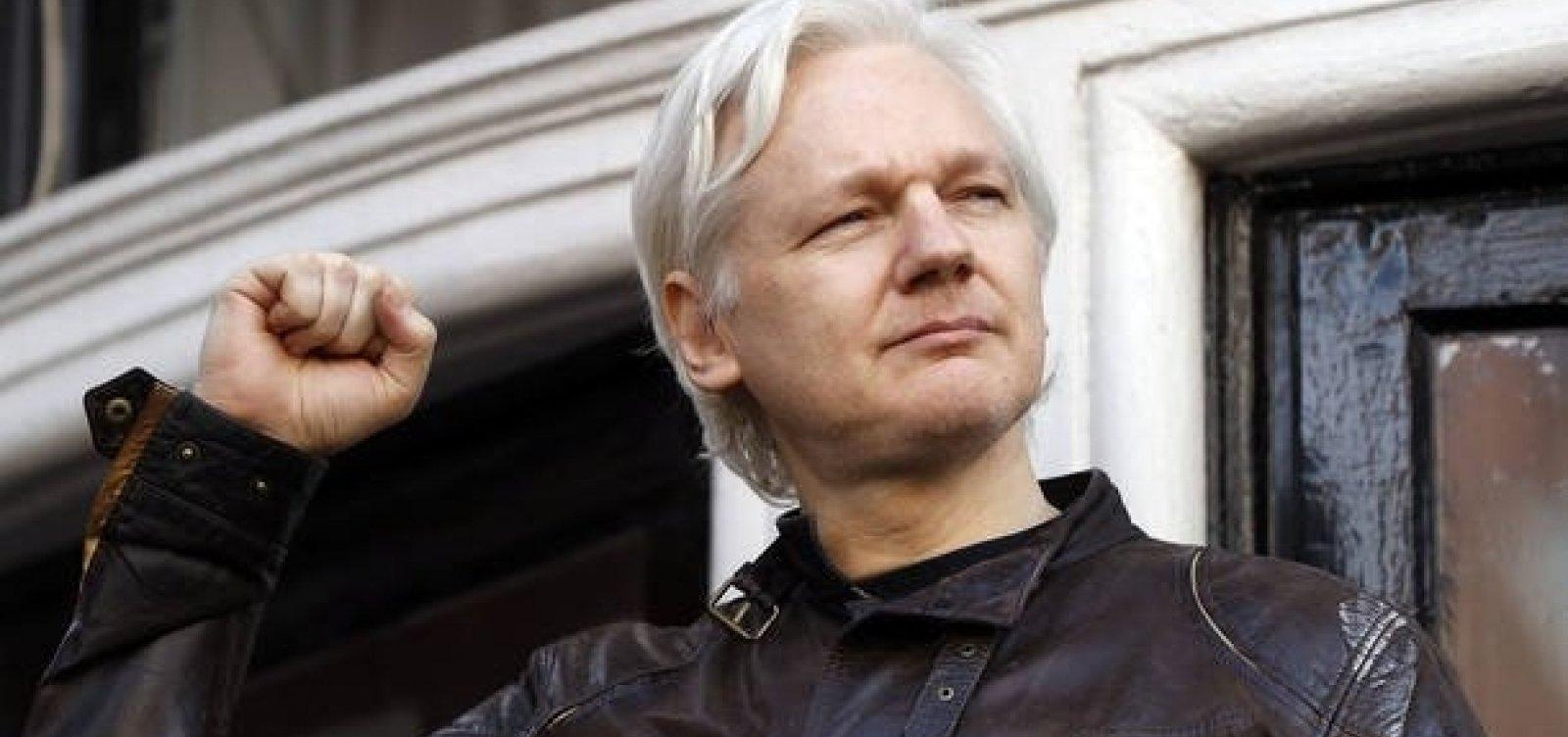 Fundador do Wikileaks diz que Equador quer encerrar seu asilo político e entregá-lo aos EUA
