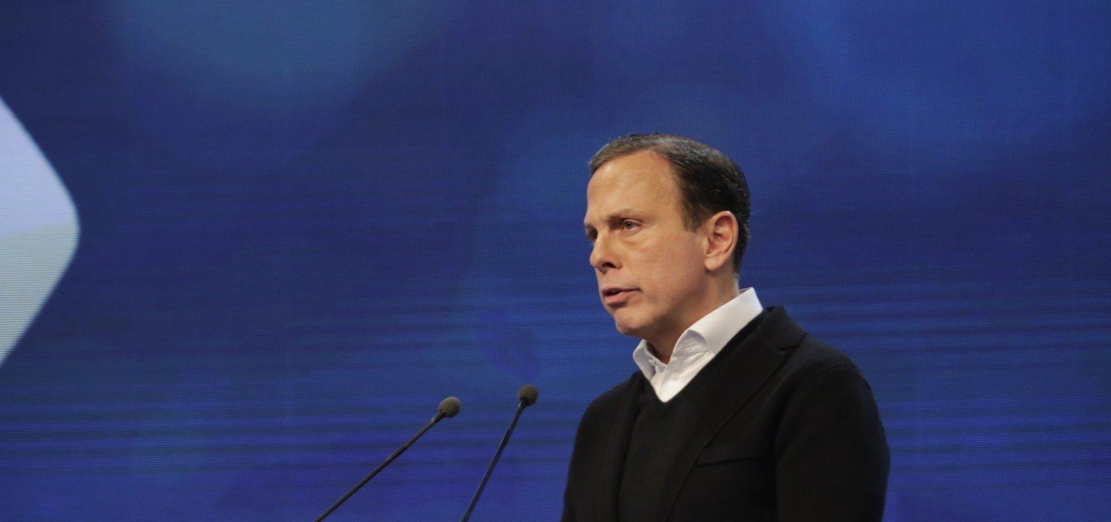 Doria desconversa sobre permanecer no governo de São Paulo até dezembro 2022