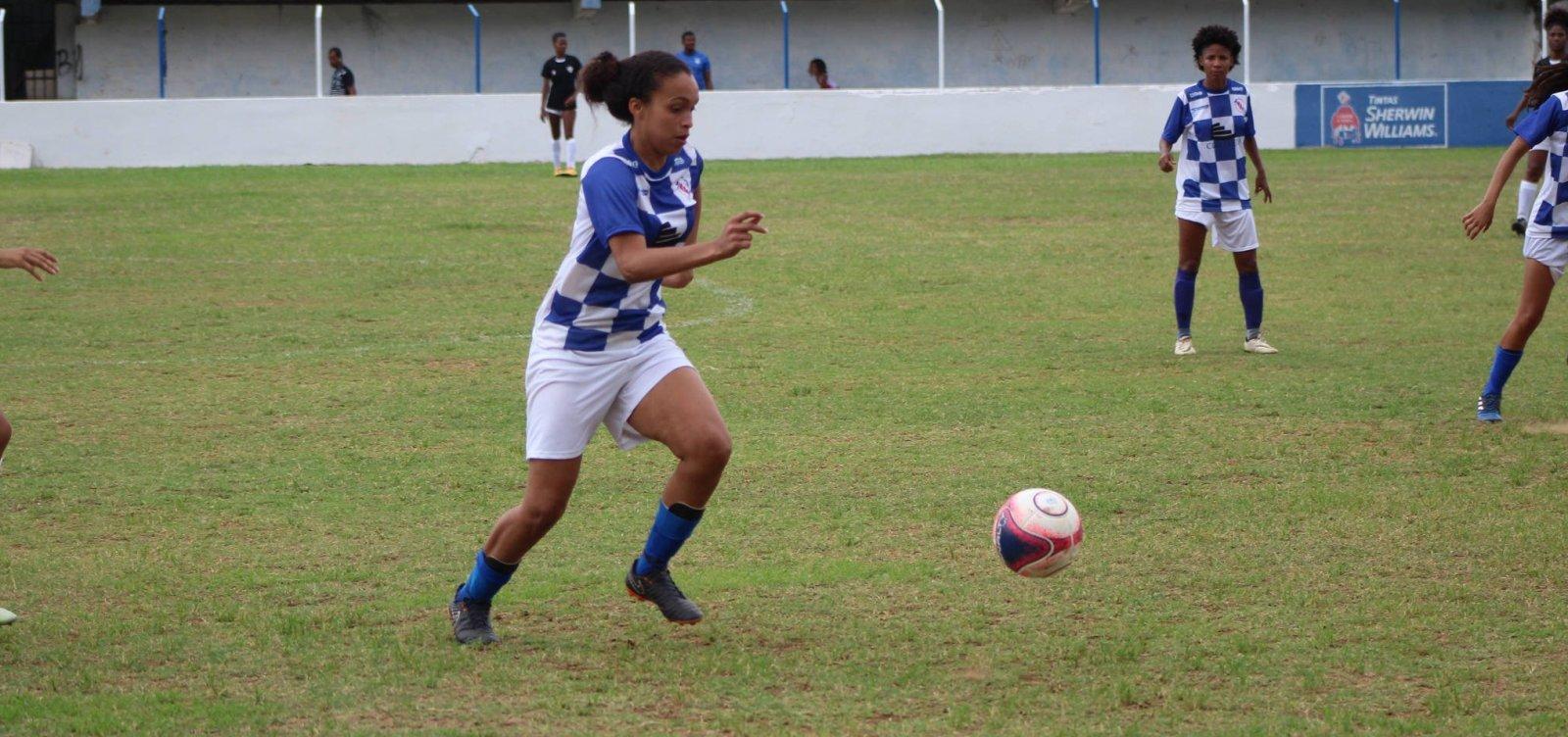 Baianão Feminino: Galícia é o destaque da 3ª rodada com goleada de 8 a 0