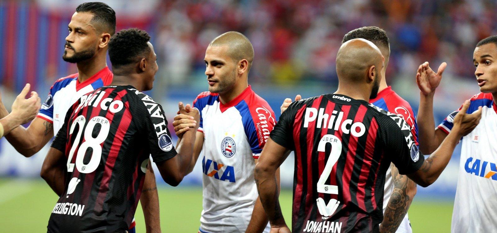 Árbitro peruano comanda duelo entre Atlético-PR e Bahia