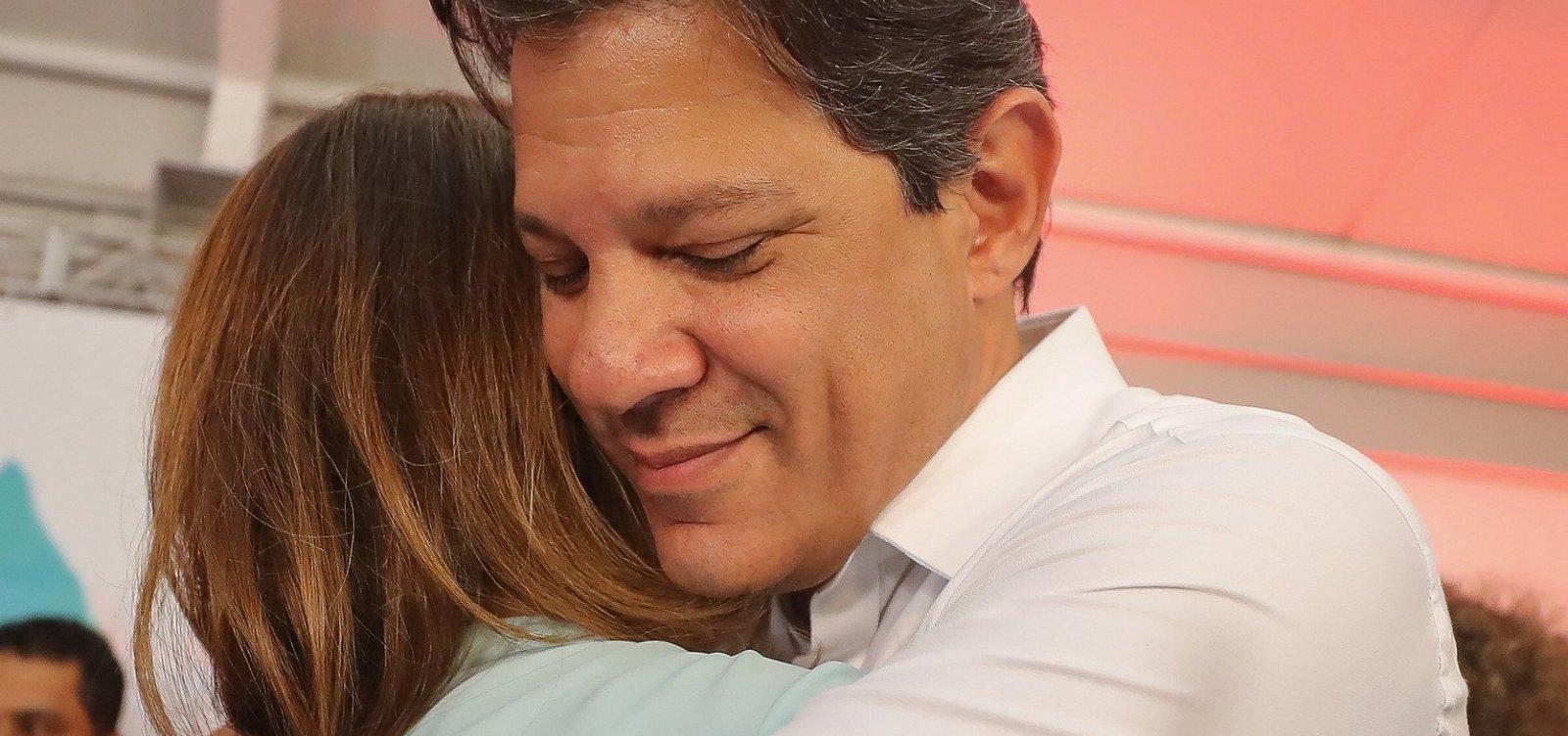 Haddad se emociona e diz que queria vencer eleição por legado do PT