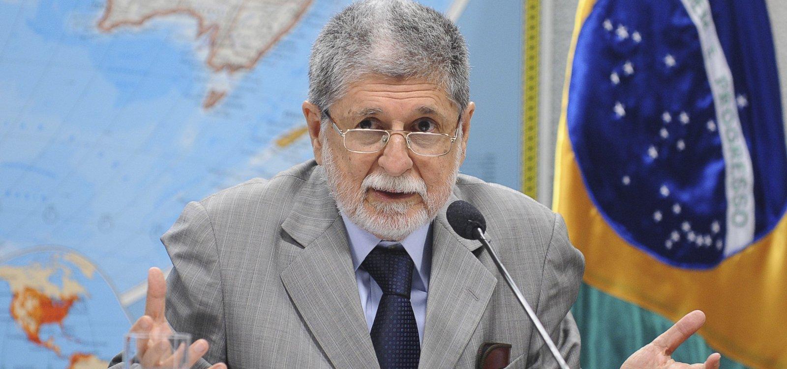 Ex-chanceler Celso Amorim diz que Brasil quer fazer um 'Brexit' no Mercosul
