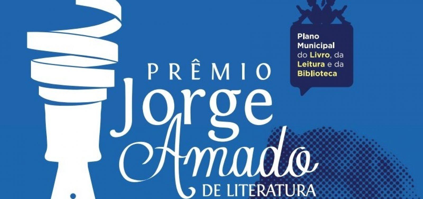 Prefeitura divulga alunos vencedores do Prêmio Jorge Amado de Literatura