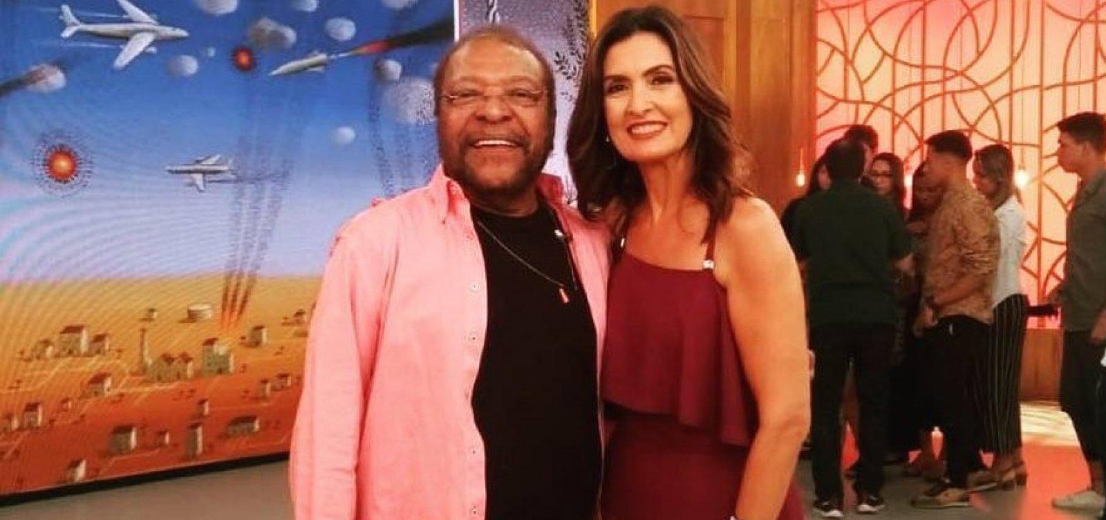 Fátima Bernardes rebate Martinho da Vila sobre assédio: 'Essa é uma questão masculina'