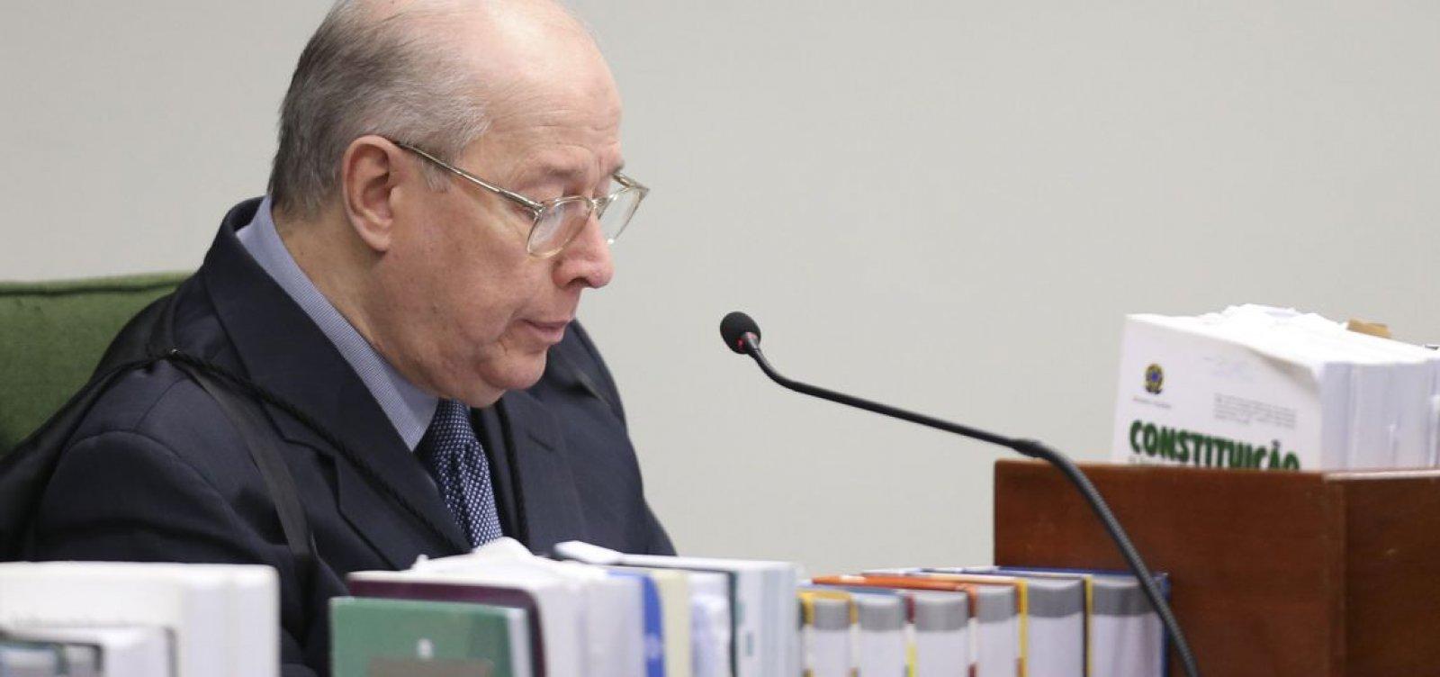 Brasil tem expectativas de respeito à Constituição, diz Celso de Mello