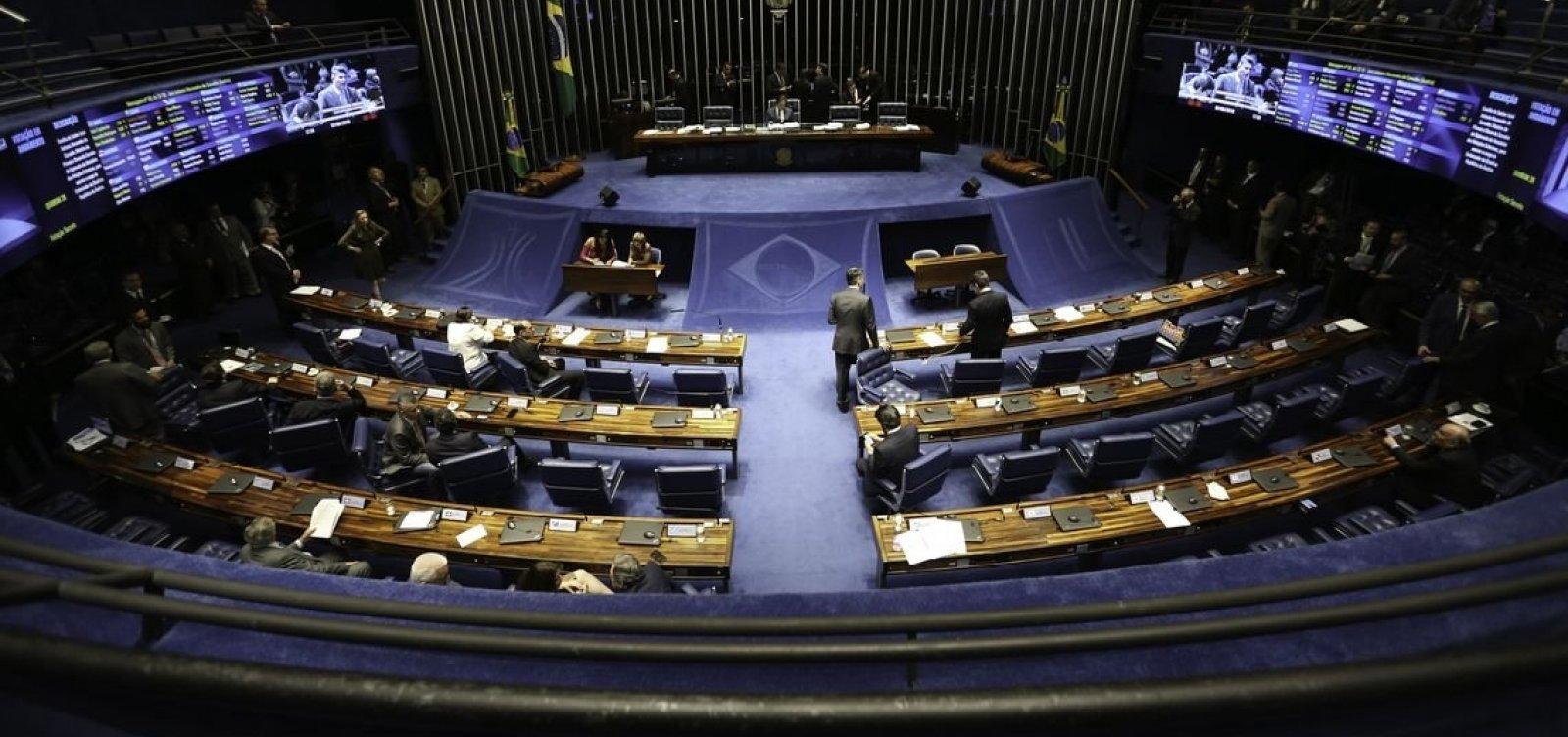 Senado vota nomeações para cargos sem consultar Bolsonaro