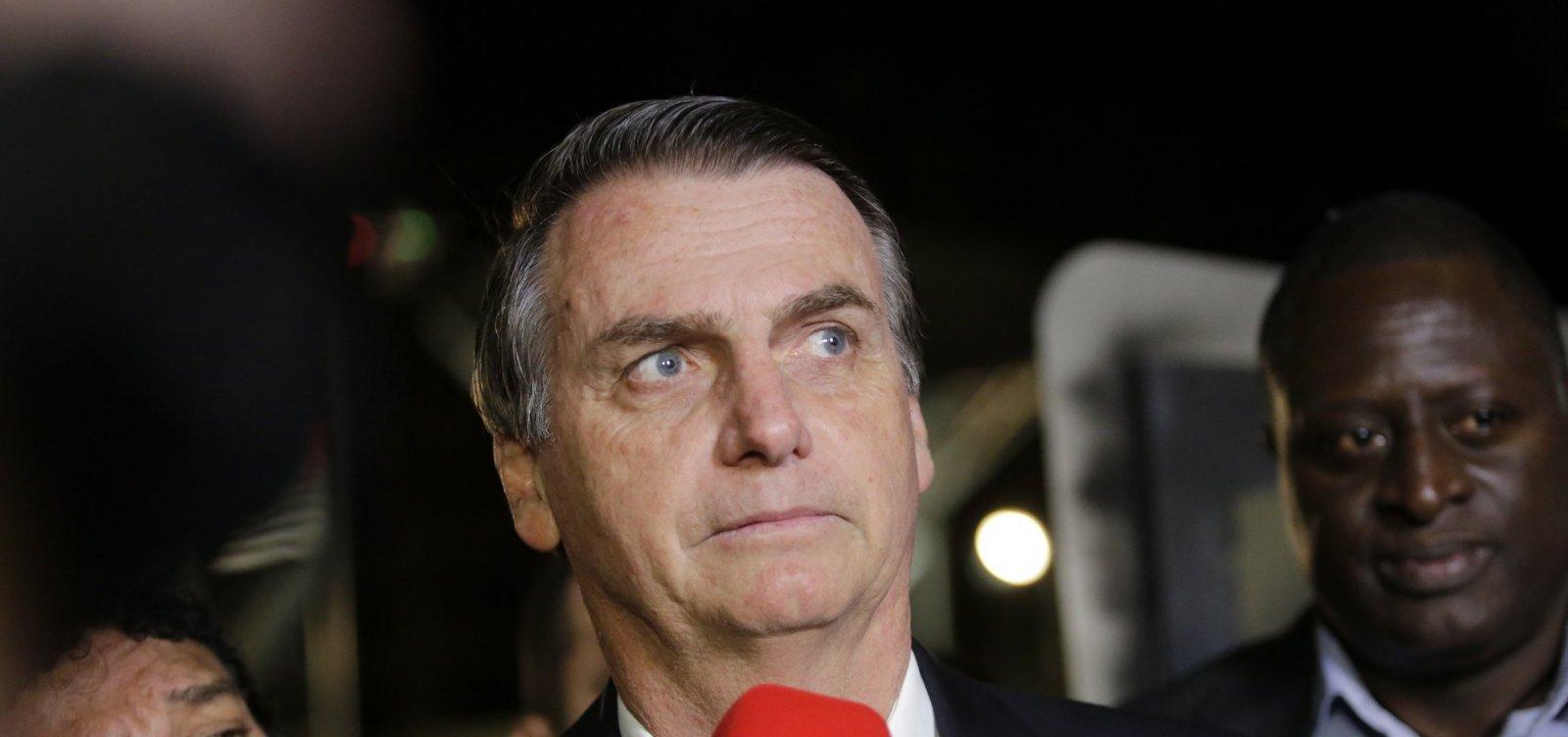 Bolsonaro avalia dois nomes para Agricultura e Meio Ambiente
