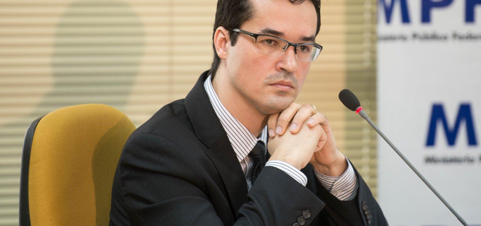 Dallagnol avalia decisão de Moro como 'positiva' e critica acusações