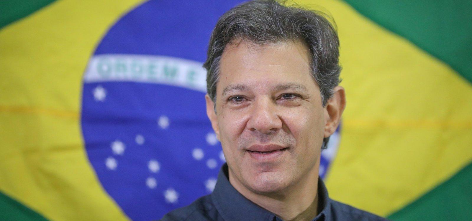 Haddad diz que elite brasileira não entende conceito de democracia e república