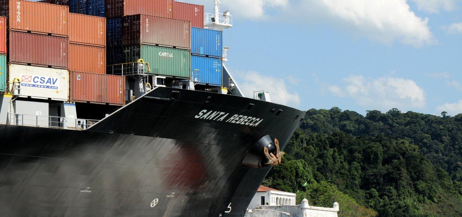 Balança comercial tem superávit de US$ 6 bilhões em outubro