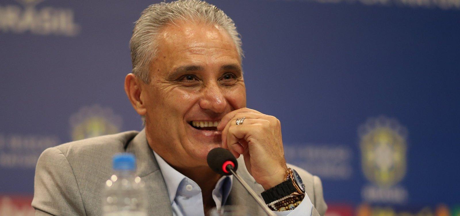 'Tem que ganhar', diz Tite sobre Copa América