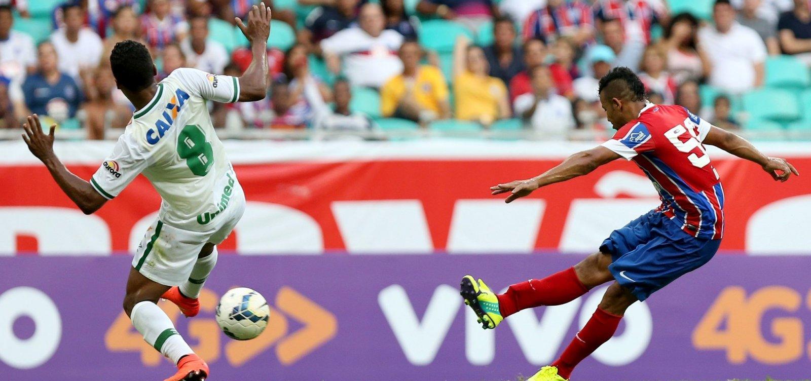 Bahia coloca ingressos a R$ 15 para jogo contra a Chapecoense