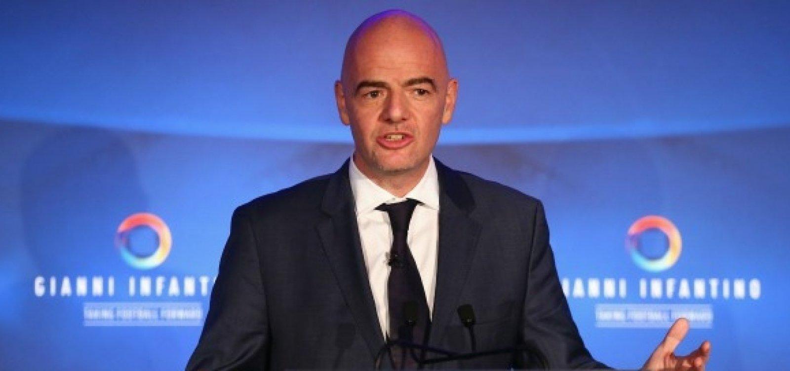 Presidente da Fifa favoreceu Manchester City e PSG, aponta Football Leaks