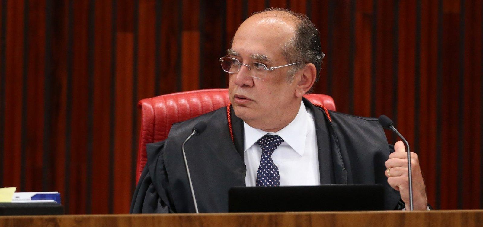 'Nos tornamos um país judiciário-dependente', critica ministro Gilmar Mendes