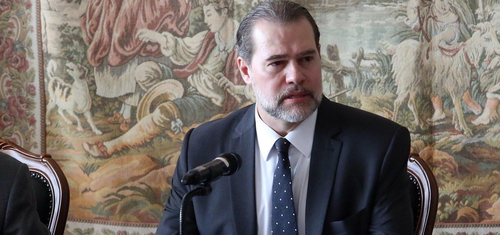 Juízes jovens sem conhecimento da realidade são recrutados para cargos públicos, diz Toffoli