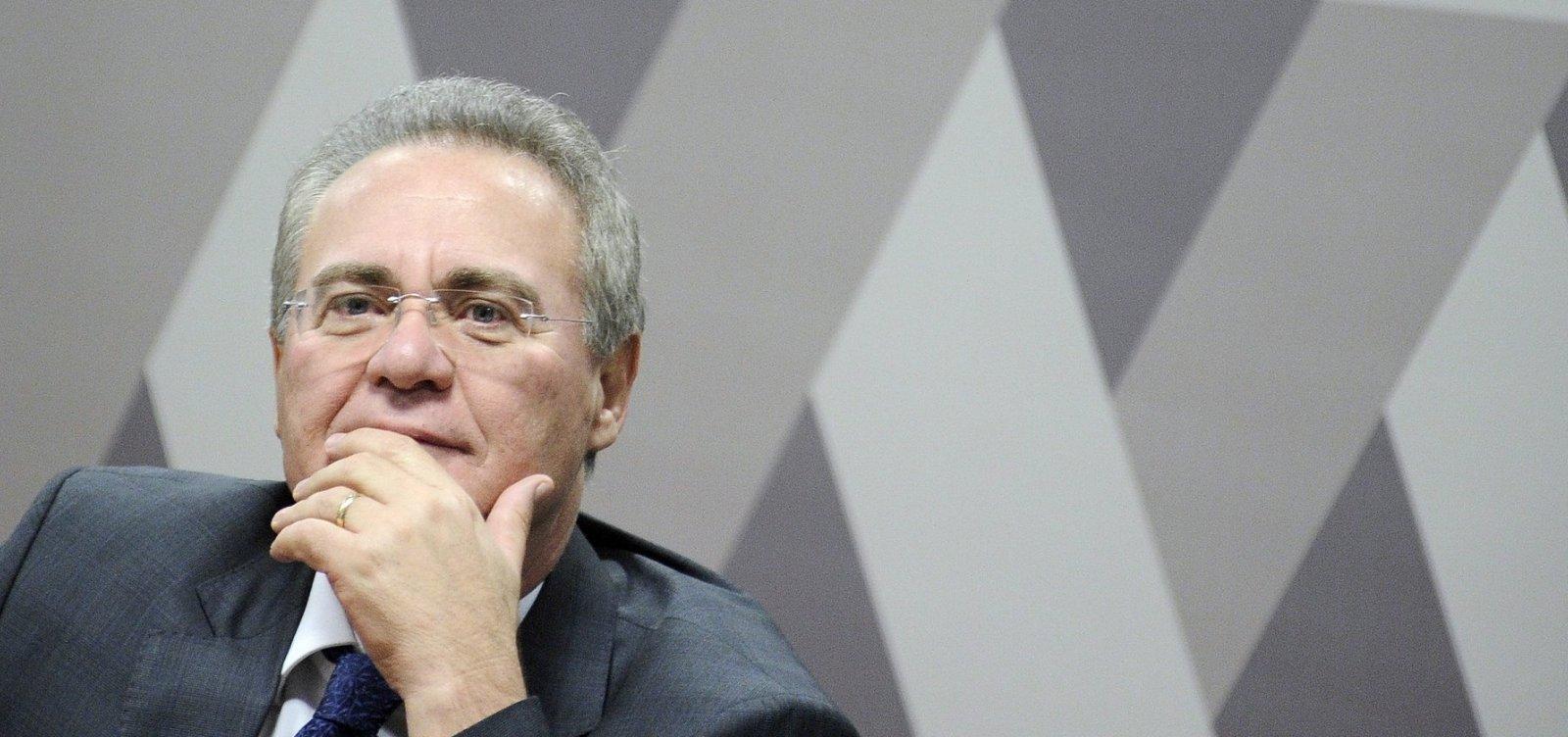 Renan ganha apoio para presidir Senado, mas líderes buscam nome de centro