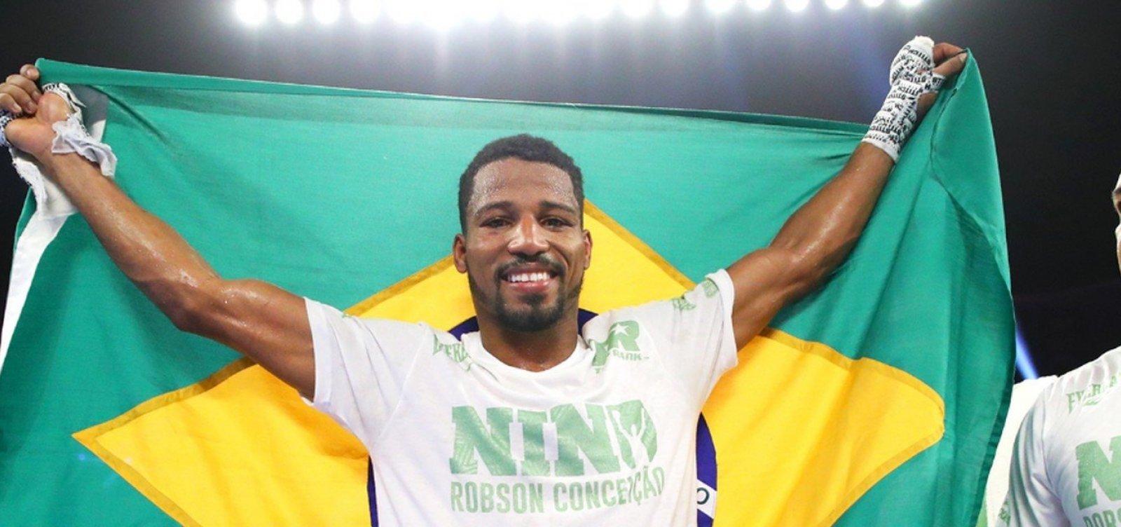 Robson Conceição vence a décima luta seguida e cobra duelo com campeões