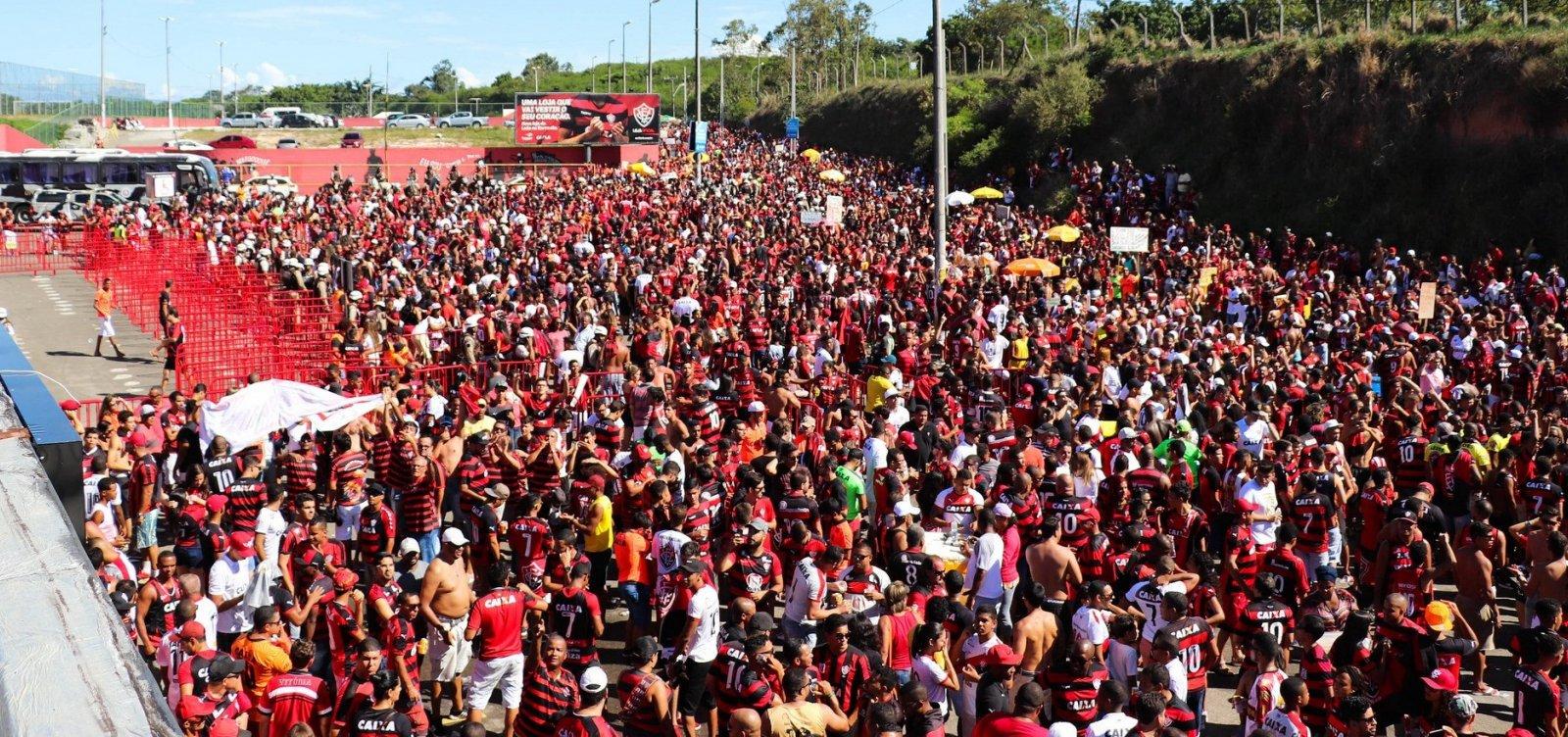 PM cobra pontualidade do Bahia no Ba-Vi do Barradão