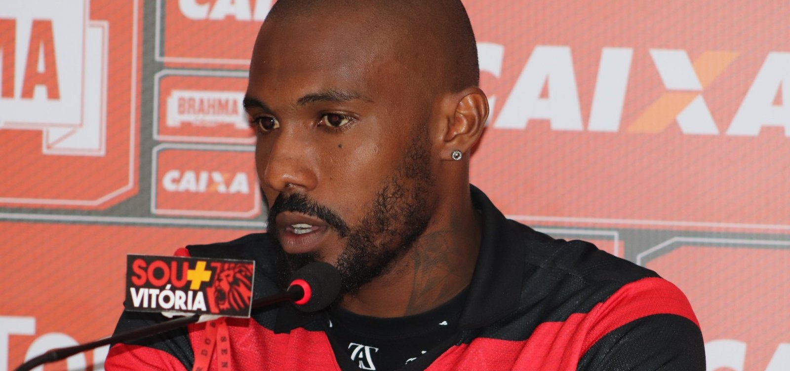 Em súmula da partida contra o Paraná, árbitro explica expulsão do rubro-negro Rhayner