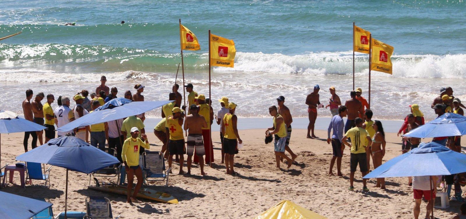 Prefeitura abre 20 vagas para salva-vidas em Salvador