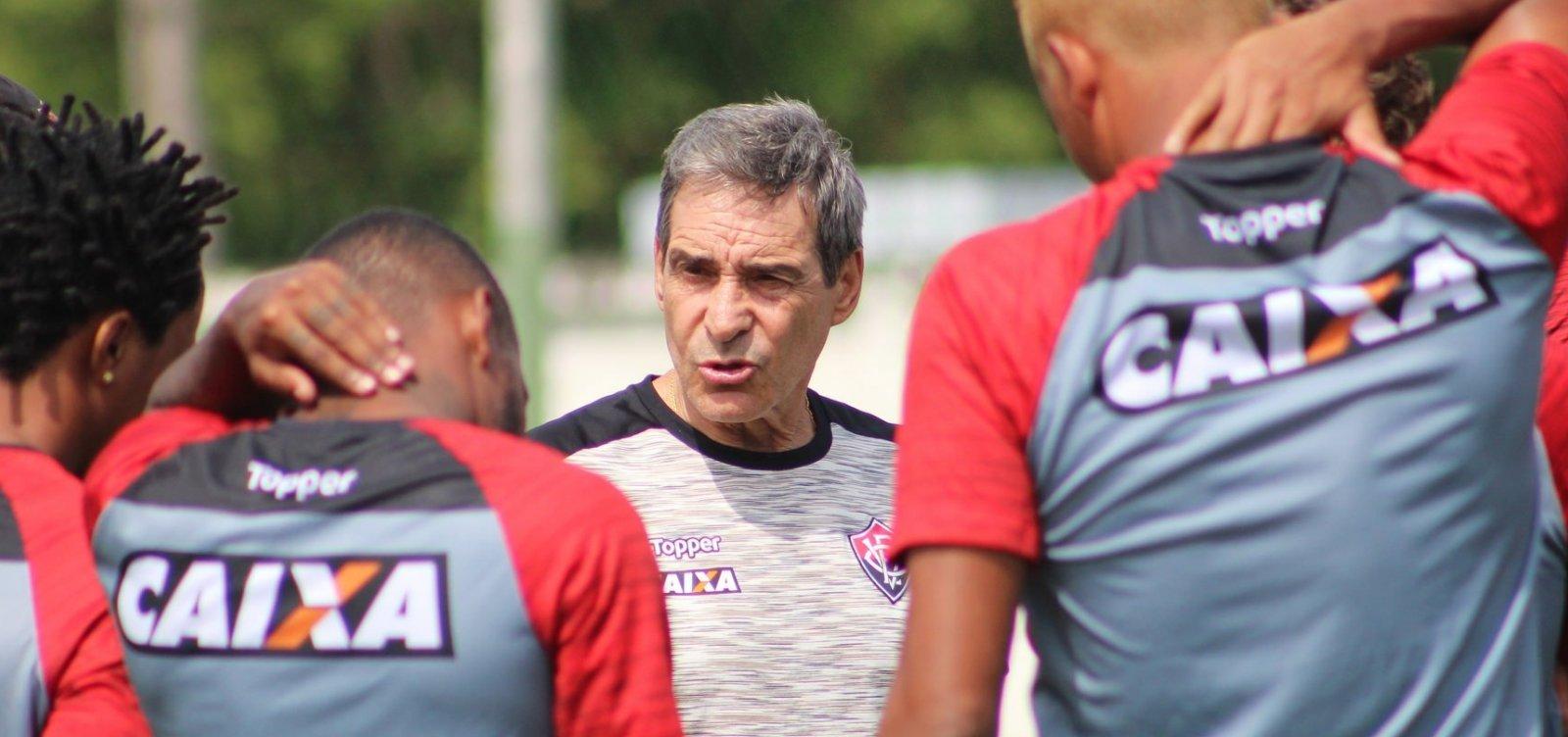 Paulo Cézar Carpegiani é demitido do Vitória