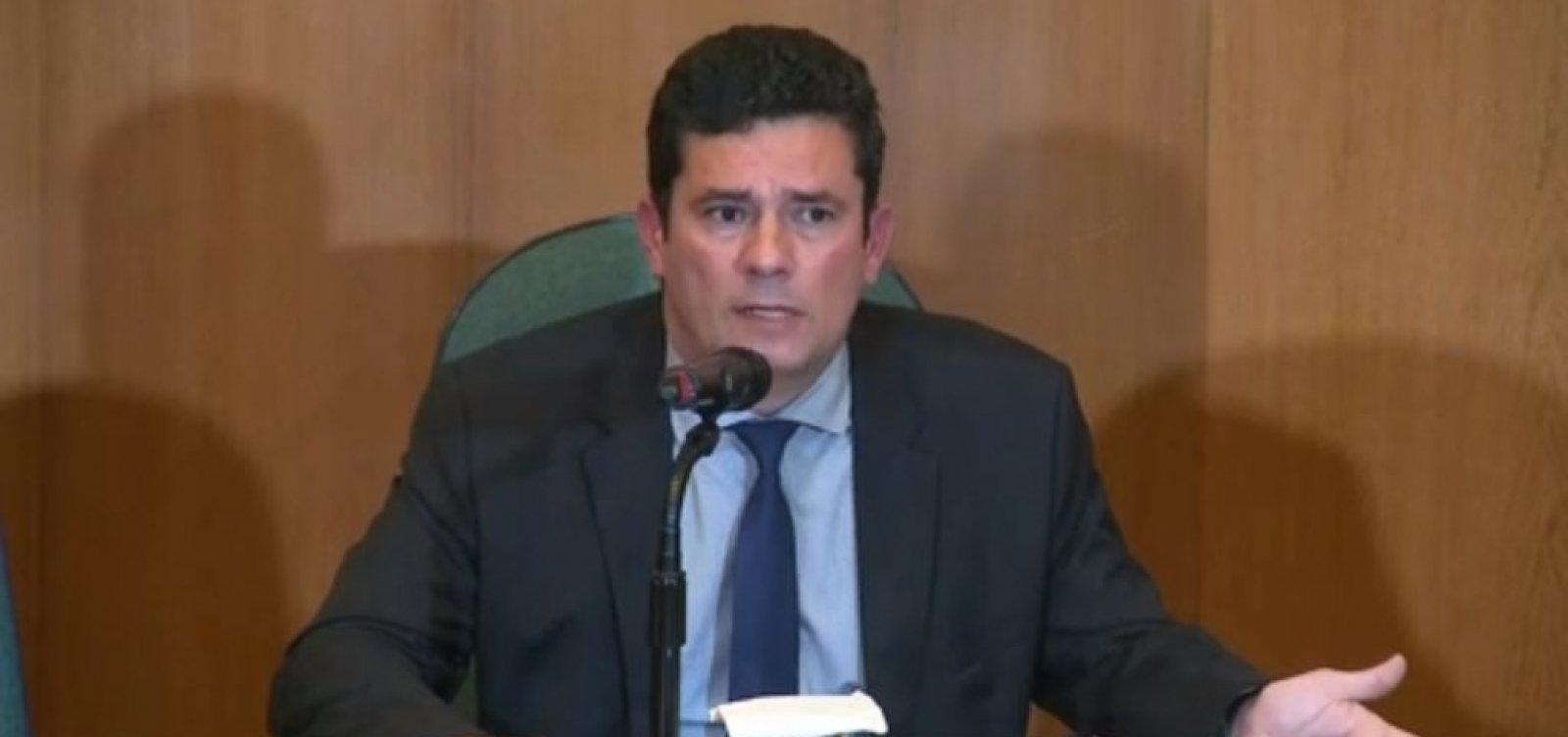 'Não há menor chance de uso do Ministério para perseguição política', diz Moro