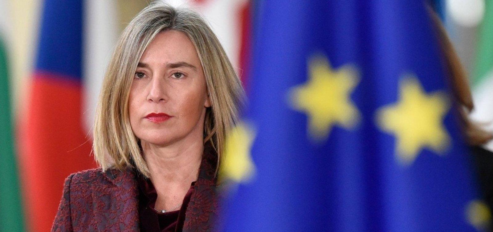 União Europeia prorroga sanções contra a Venezuela por um ano