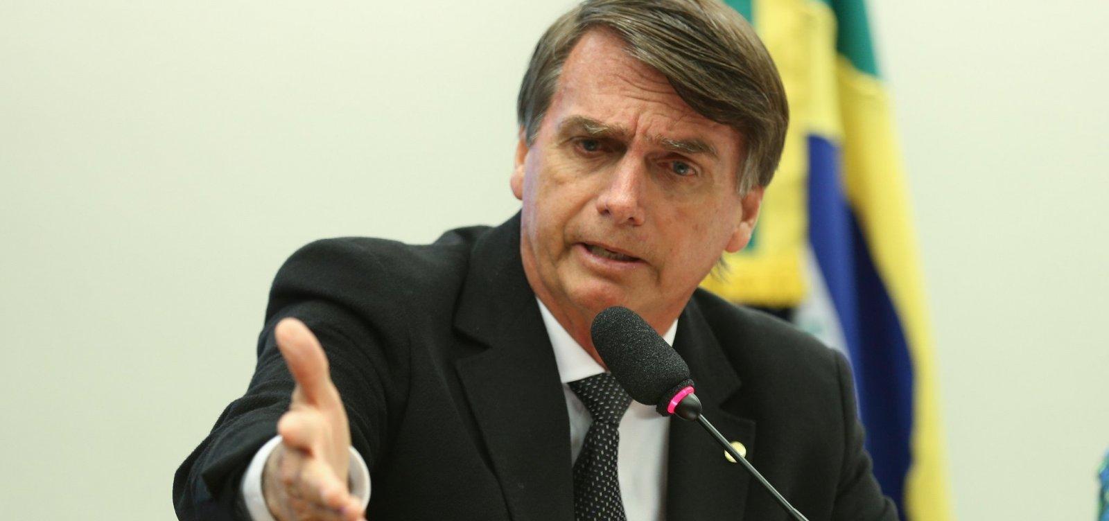 Mudança de embaixada para Jerusalém 'não está decidida', diz Bolsonaro