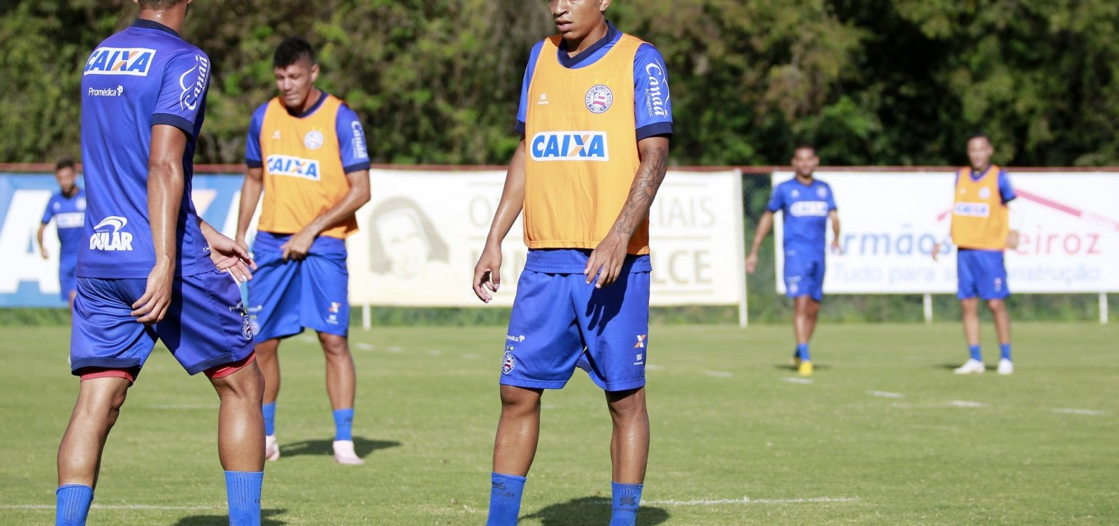 Sem Gilberto, Bahia retoma os treinamentos para Ba-Vi