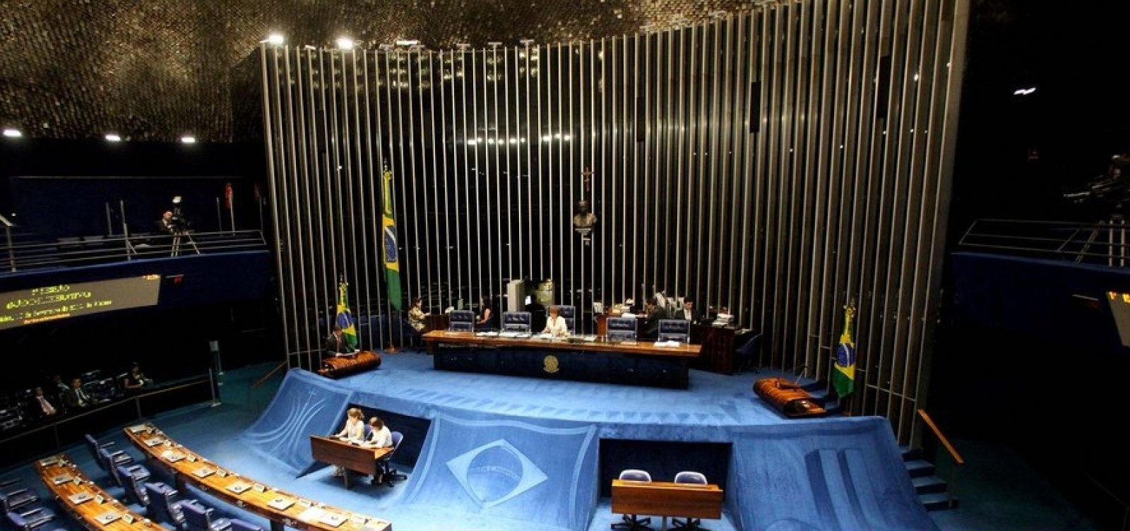 Senado pode votar reajuste para ministros do STF a partir de hoje