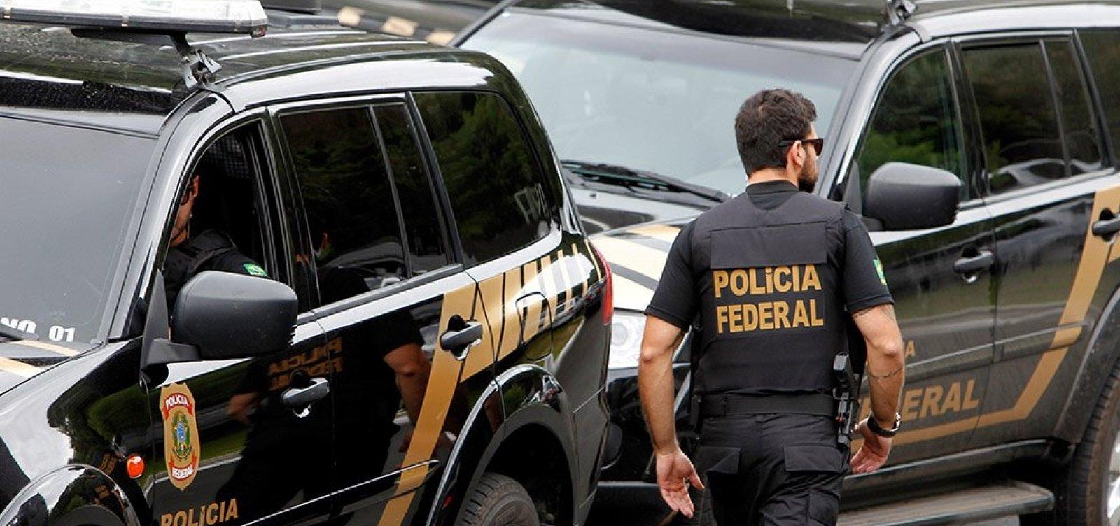 PF deflagra operação no Rio de Janeiro para prender 10 deputados