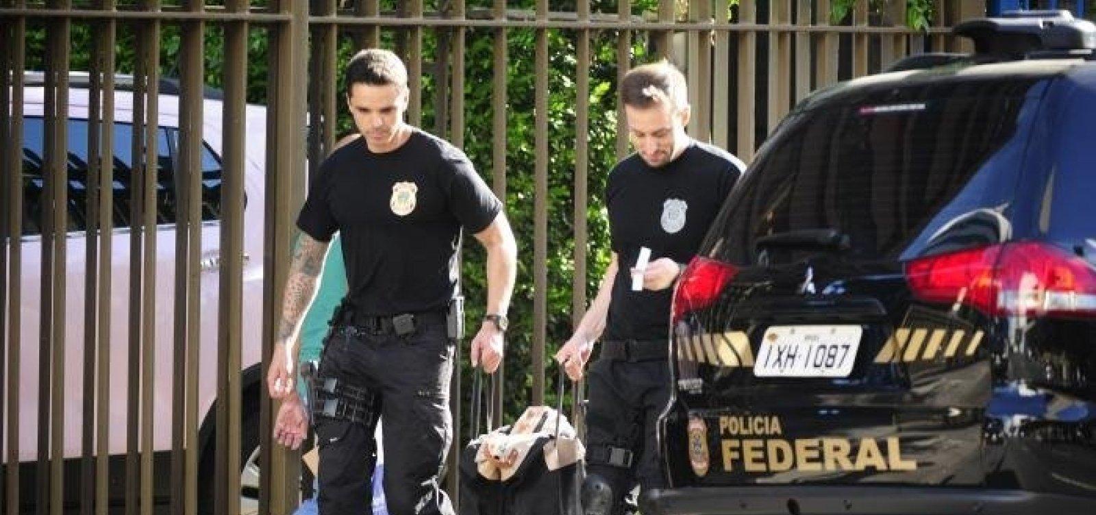 Polícia Federal realiza buscas para apurar propinas da Odebrecht