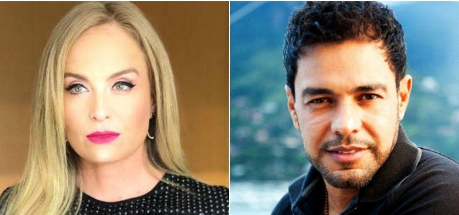 Angélica e Zezé di Camargo desmentem Leão Lobo sobre suposto caso: 'Irresponsável'