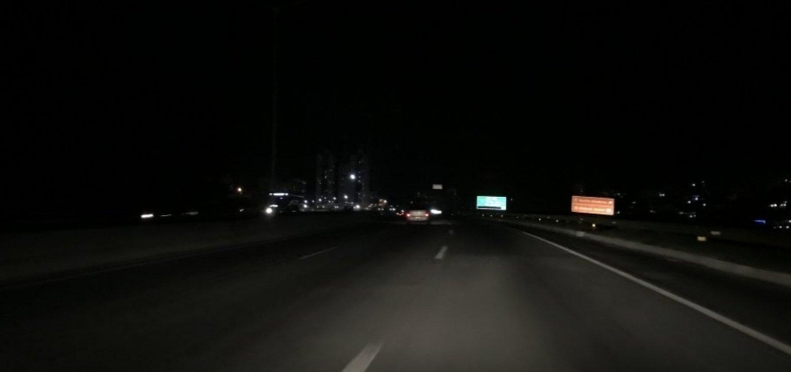 ViaBahia inicia revitalização em iluminação da BR-324