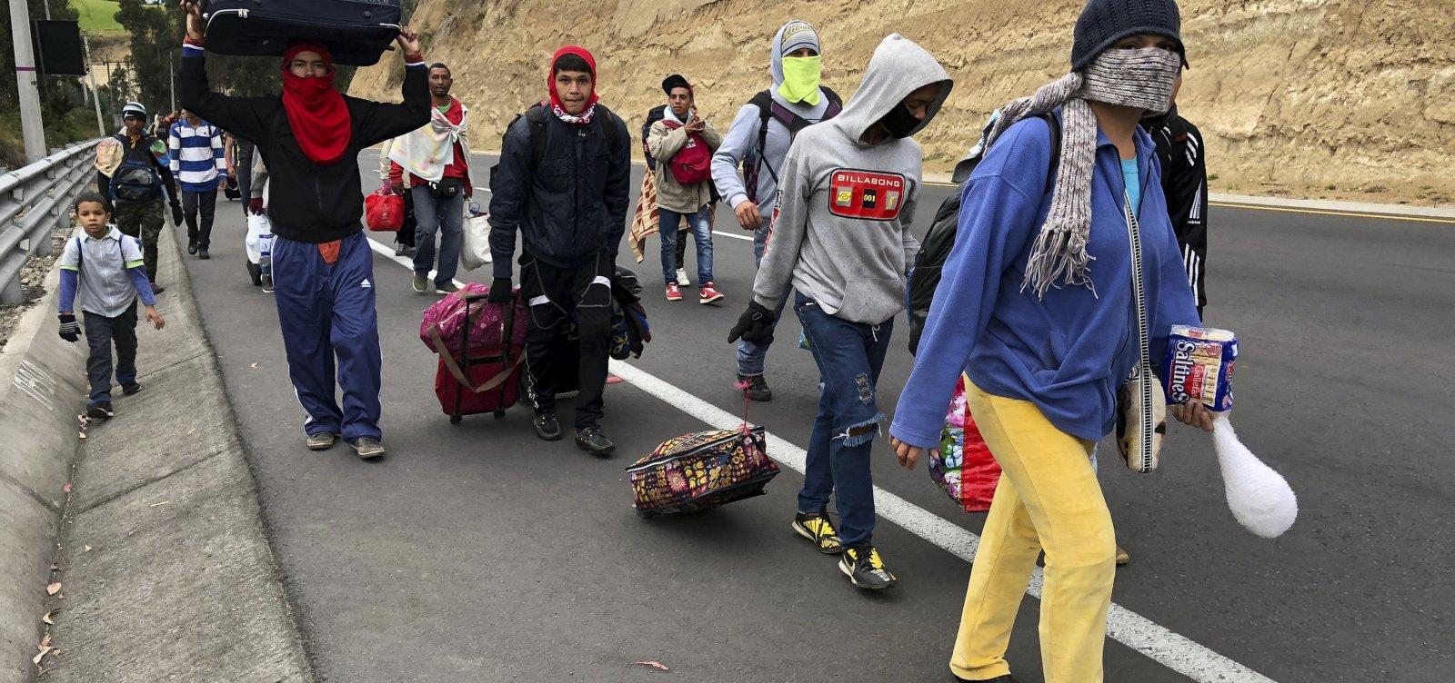 Refugiados e migrantes venezuelanos chegam a 3 milhões no mundo, atesta ONU