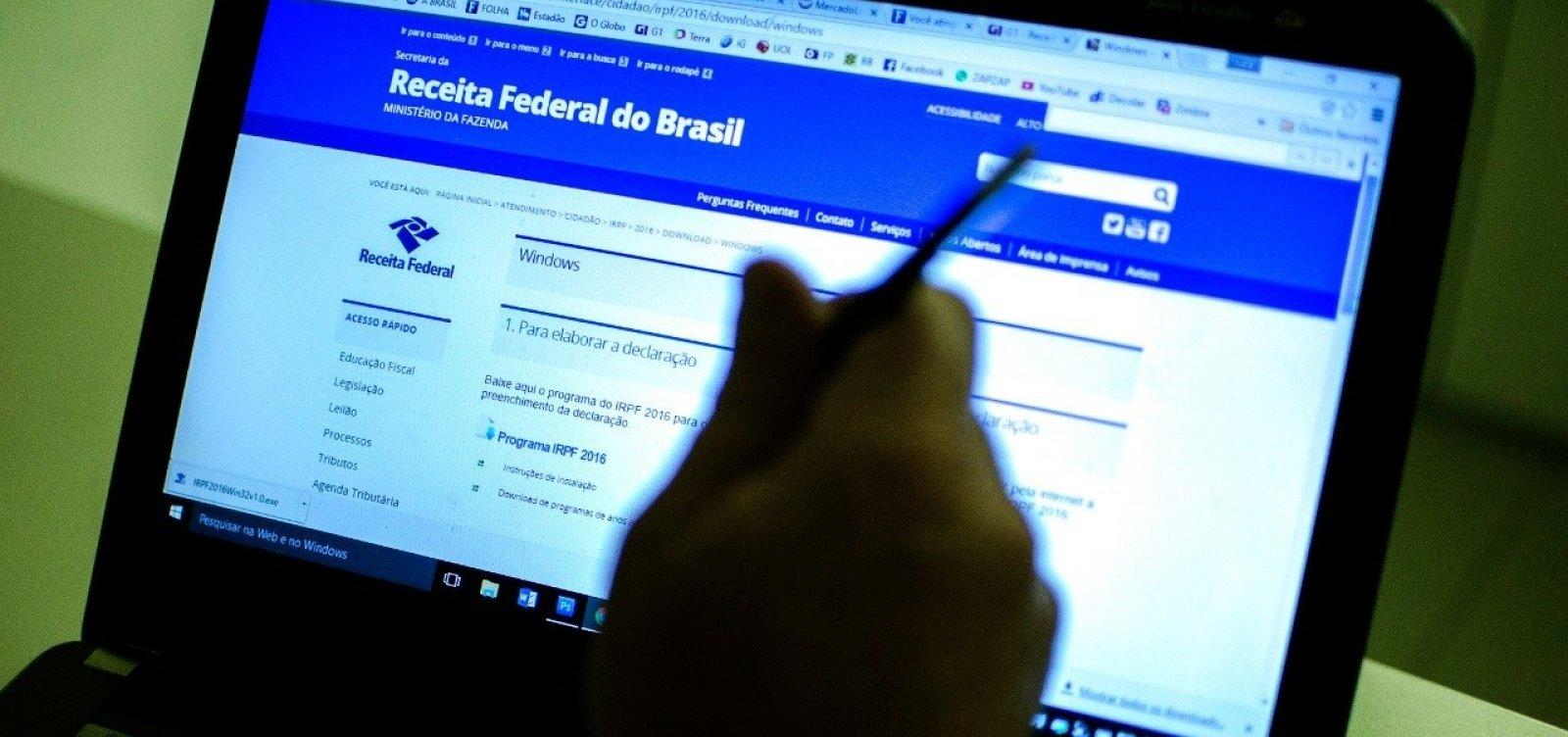 Mais de 49 mil baianos devem receber sexto lote do Imposto de Renda