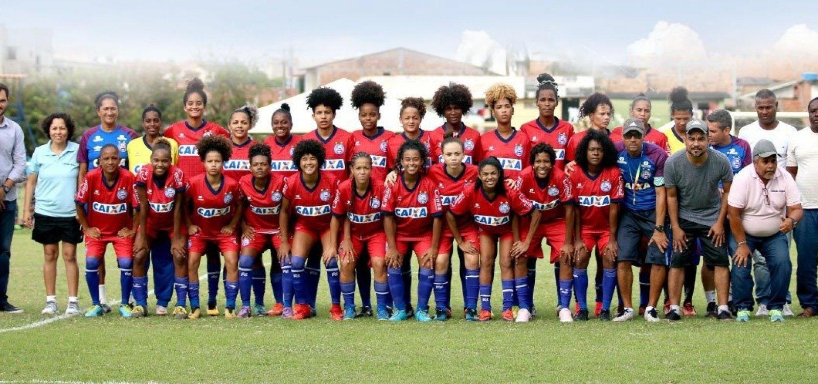 Bahia terá três categorias de futebol feminino em 2019