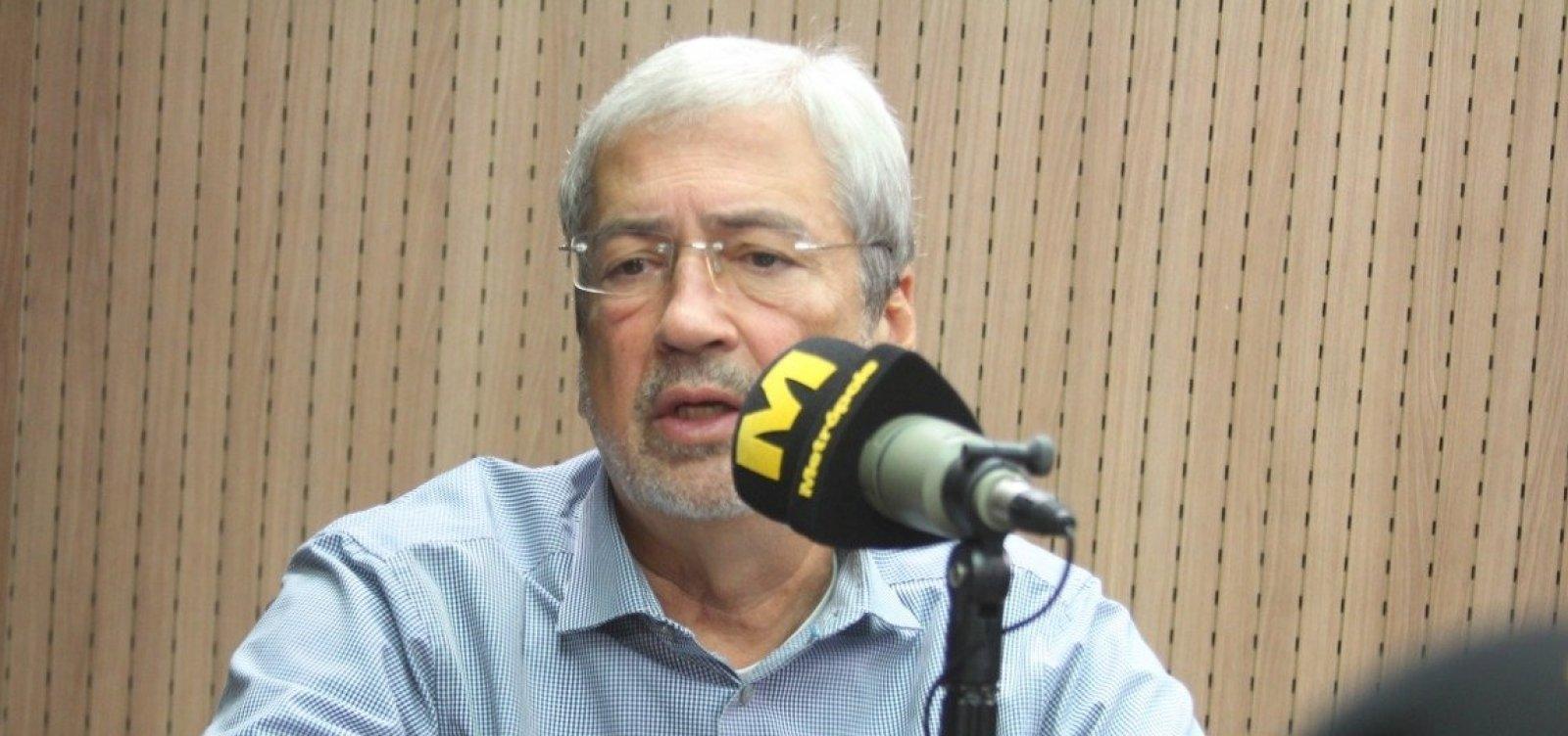 Imbassahy diz que não teve 'apoio correspondente' de Neto para reeleição