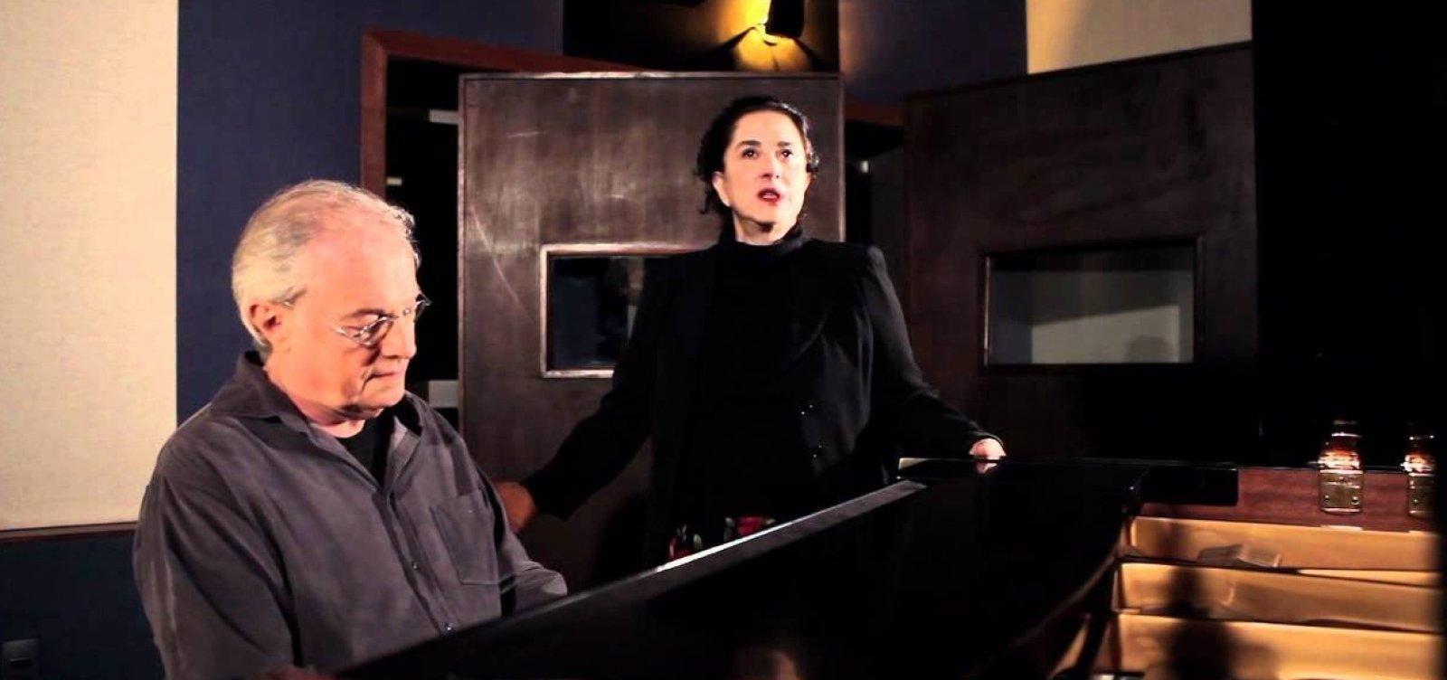 Francis e Olivia Hime apresentam 'Encontros Musicais' no Café-Teatro Rubi