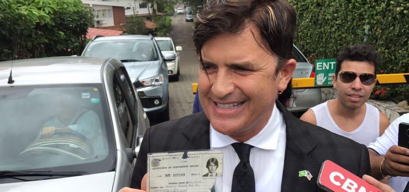 Dr. Rey visita Bolsonaro e diz que quer ser ministro da Saúde