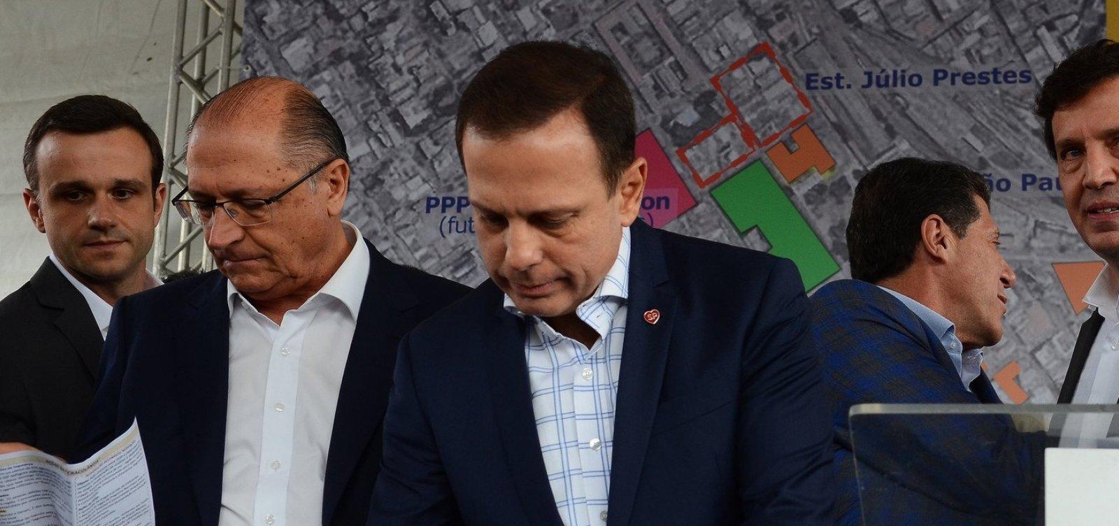 Alckmin sinaliza que deixará comando do PSDB em maio, diz jornal