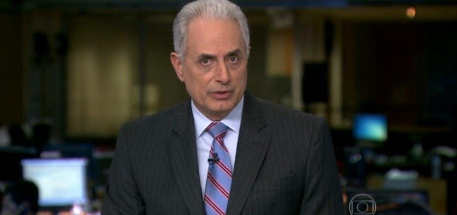 Questionado, William Waack confirma que 'a Globo é um ninho de cobras'