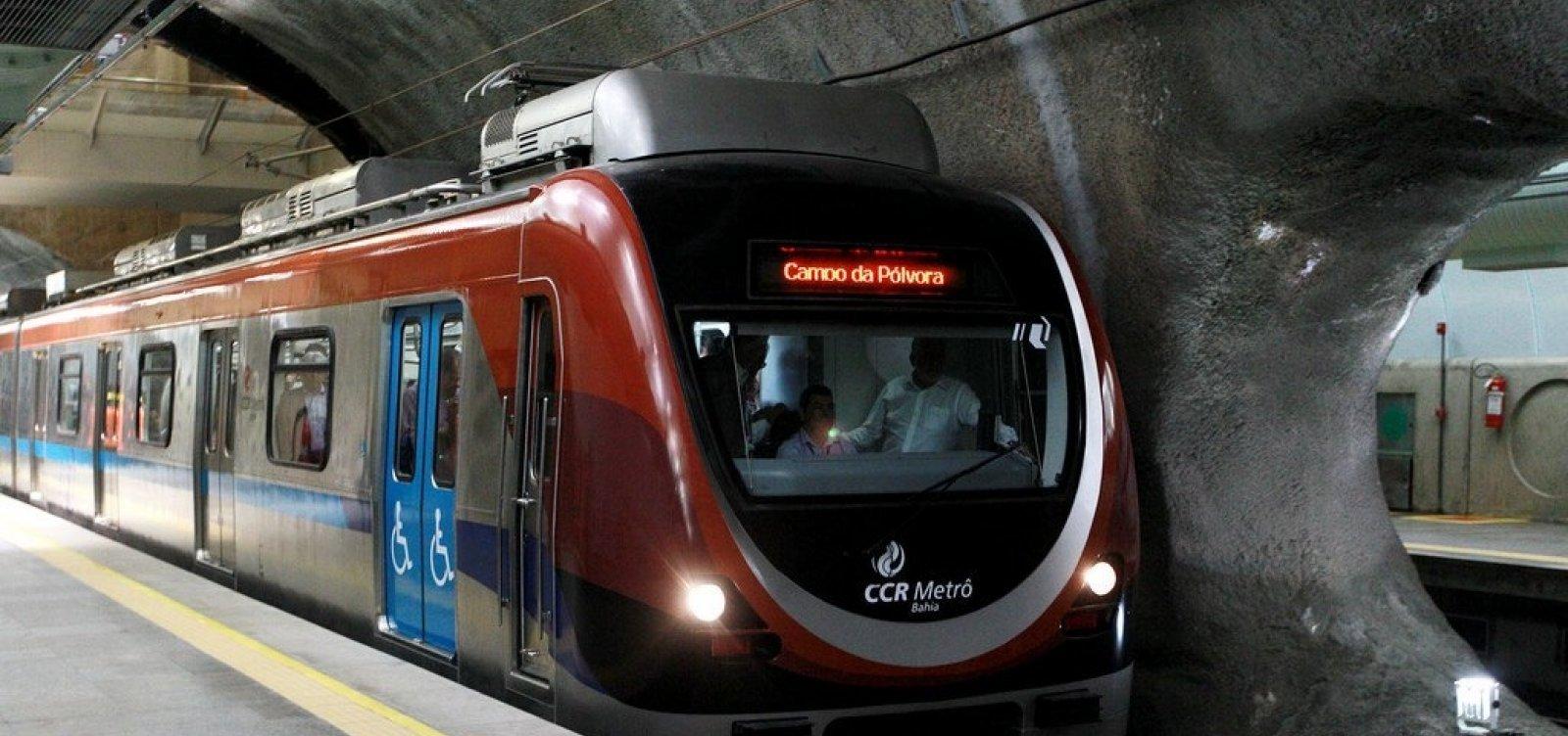 Licitação para levar metrô até Cajazeiras será aberta nesta semana