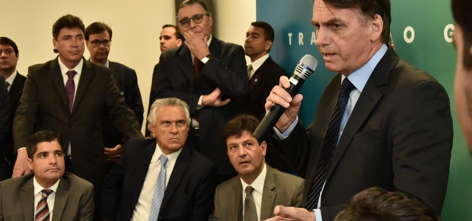 Bolsonaro se reúne com ACM Neto e líderes de mais cinco partidos hoje