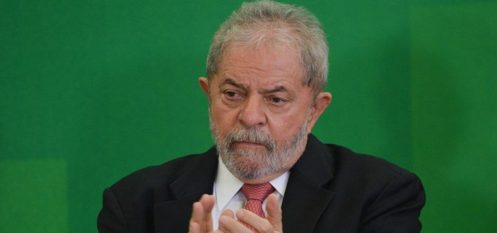 Salvador terá ato a favor da liberdade de Lula no domingo