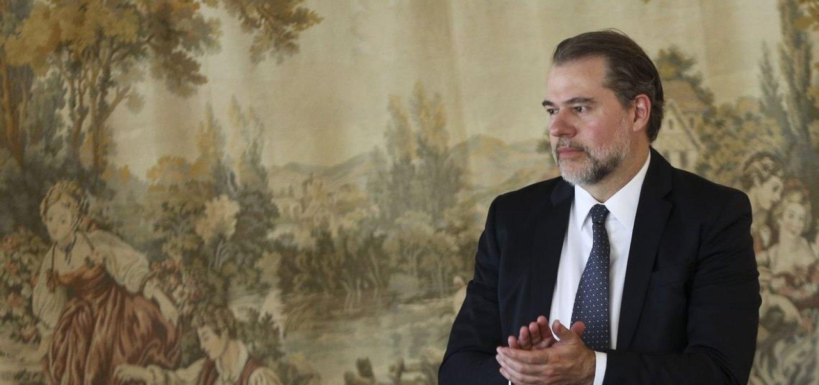 Toffoli retira da pauta do STF julgamento sobre prisões em 2ª instância
