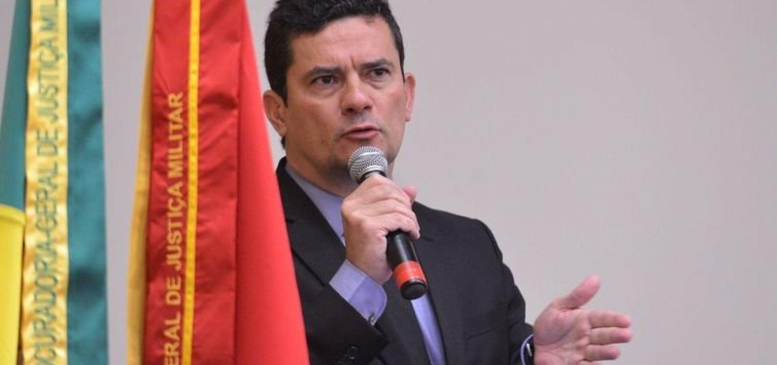 Moro diz que governos anteriores foram omissos no combate à corrupção