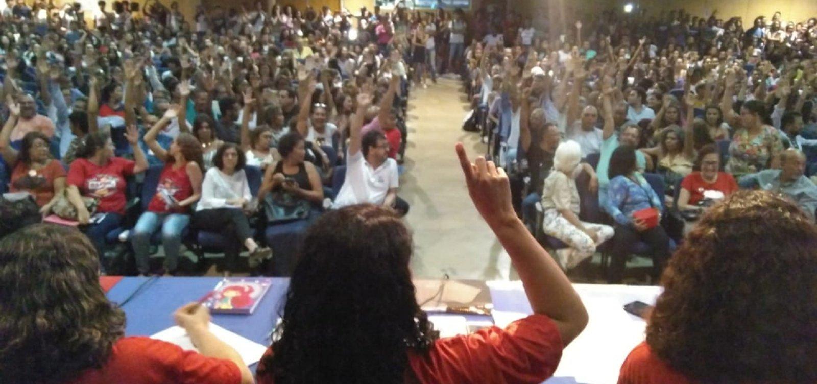 Professores da Uneb decretam greve