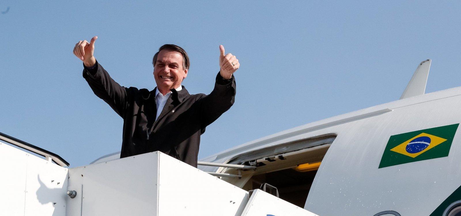 'Não nasci para ser presidente, e sim militar', diz Bolsonaro