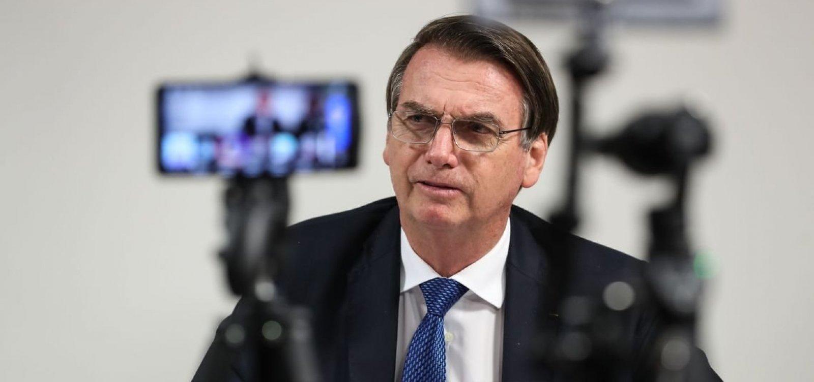 Bolsonaro confirma visita a países árabes no início do segundo semestre